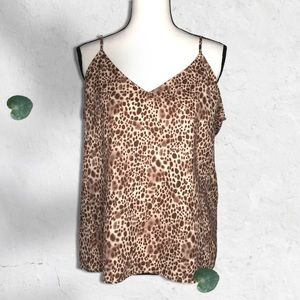 A New Day Animal Print Camisole Top NWTS X…